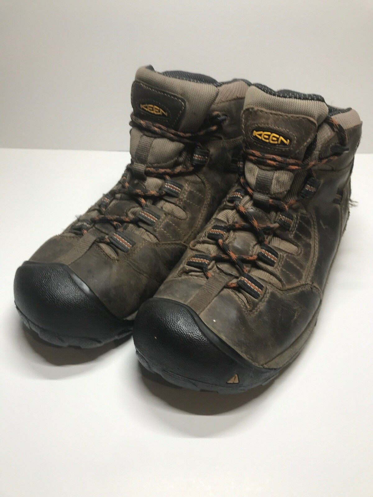 Mens KEEN braun Leather Waterproof Hiking Hiking Hiking Trail schuhe Größe 11   44.5 10d774