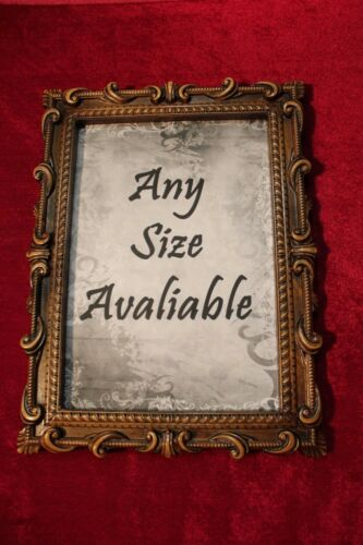 WOOD CARVED Any size avaliable PHOTO PICTURE FRAME Rare.