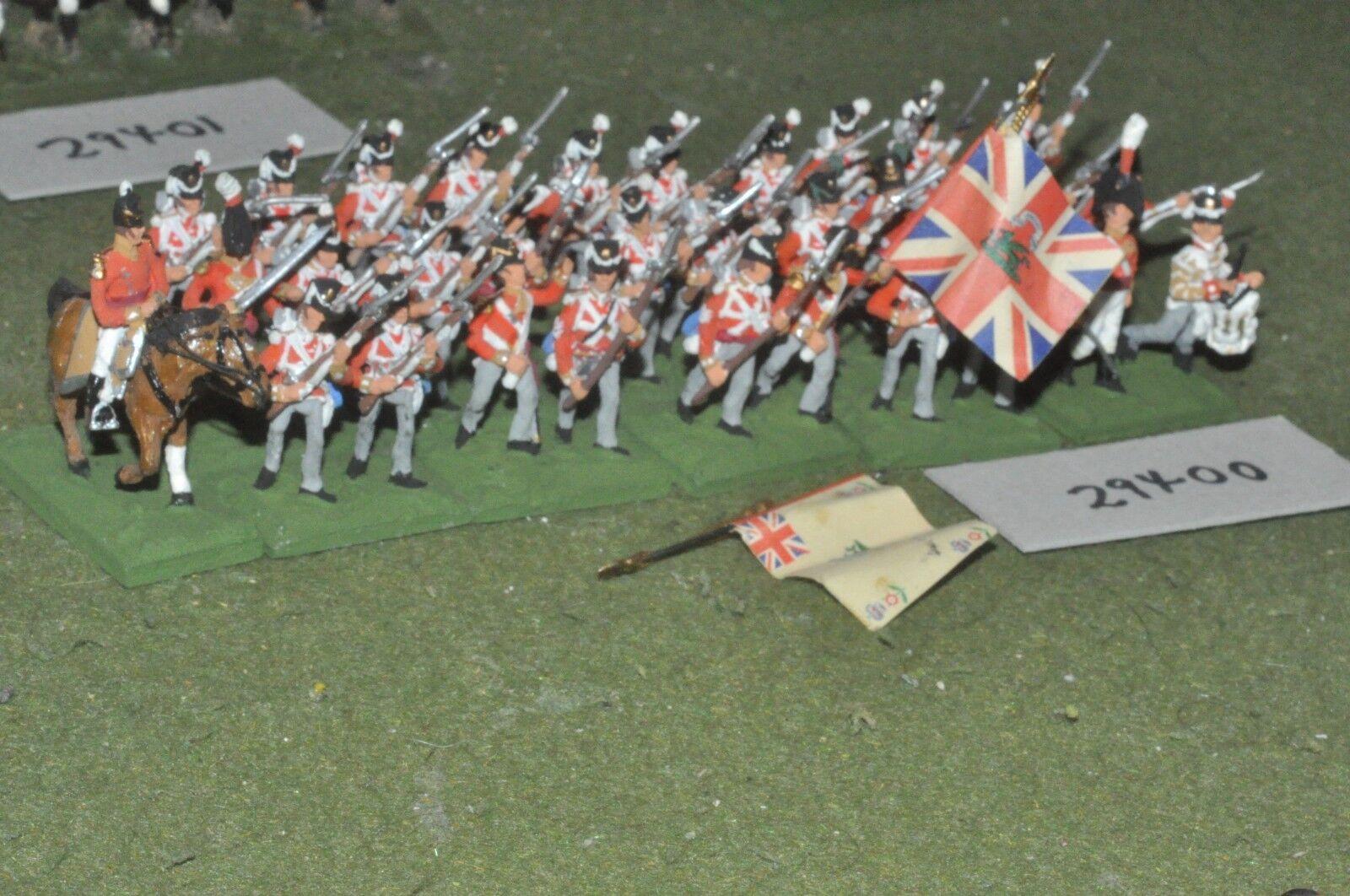 25mm napoleonic   british - line 31 figures - inf (29400)