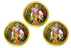 Krishna-Hindou-Marqueurs-de-Balles-de-Golf