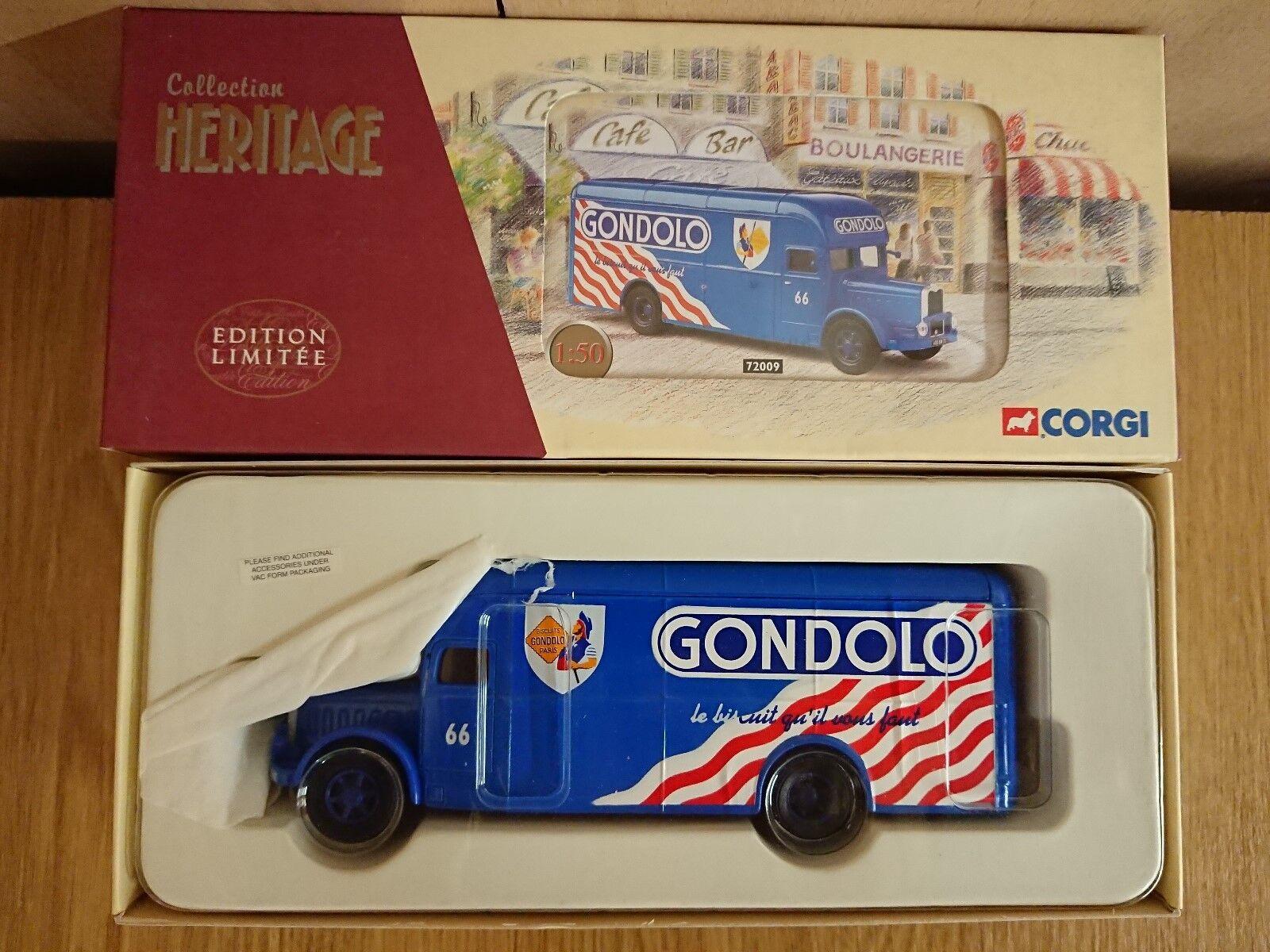 Corgi 72009 Bernard Type 110 Fourgon GONDOLO Ltd Ed No. 0026 of ONLY 1048