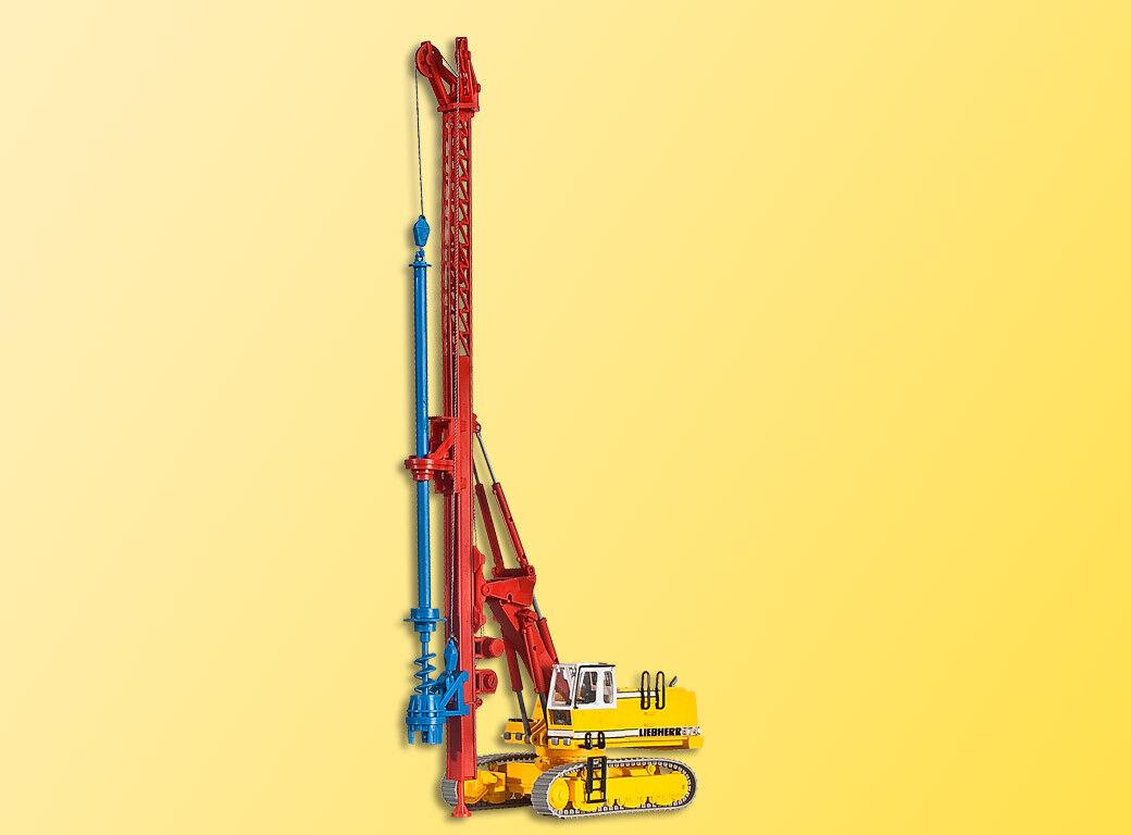 Kibri 11279 Liebherr Hydraulic Bagger 974 with Bohrgeraet, Kit, H0