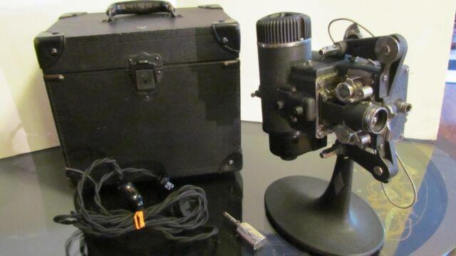 Beautiful Antique Bell & Howell Standard Cine-machiner Movie Projector -Working!