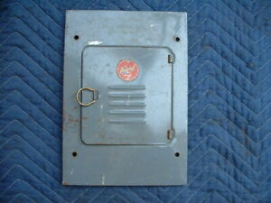 [SCHEMATICS_4FR]  Federal Breaker Fuse Box Cover Cat #108 | eBay | Federal Fuse Box |  | eBay