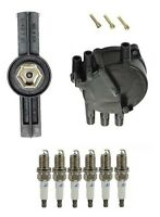 Mazda Mx-6 1995-1997 Ignition Kit Distributor Rotor & Cap & Plugs Best Value on sale