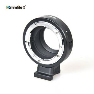 Commlite-Aperture-Mount-Adapter-for-Nikon-A-F-G-D-Mount-to-M4-3-MFT-GH5-Camera