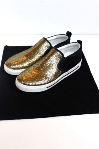 8 Jacobs Marc Uk 41 By Glitter Space Gold Sneakers v68qwf5