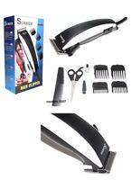 Tondeuse A Cheveux Electrique + 8 Accessoires Ciseaux Peigne 4 Sabot Neuf Homme