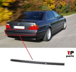 FOR-BMW-7-SERIES-1994-2001-E38-NEW-REAR-BUMPER-TRIM-WITH-PDC-HOLES-CENTER