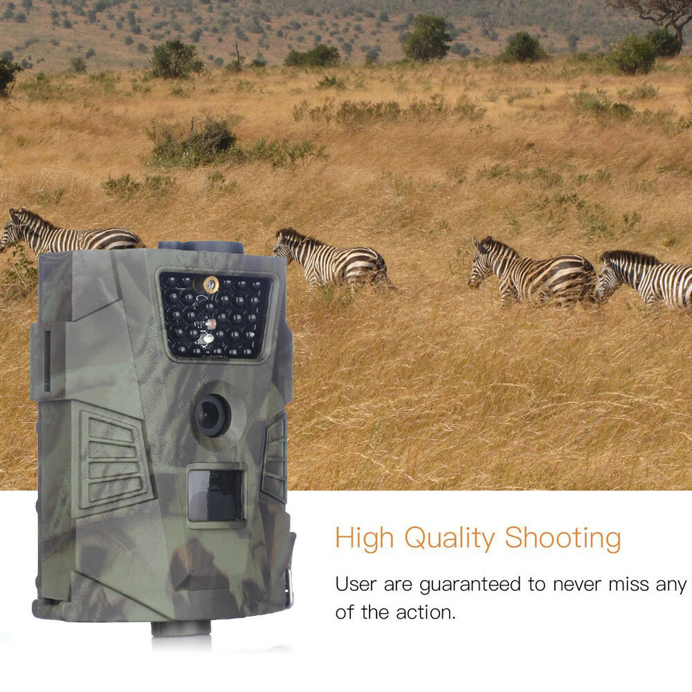 Hunting Trail Camera HD 12MP Stealth Vision GPRS  Scouting Infrared Hunter Camera  outlet online