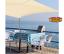 miniatura 4 - Tenda a vela quadrata ombreggiante mt 3, 4 o 5 mt telo ombra giardino parasole