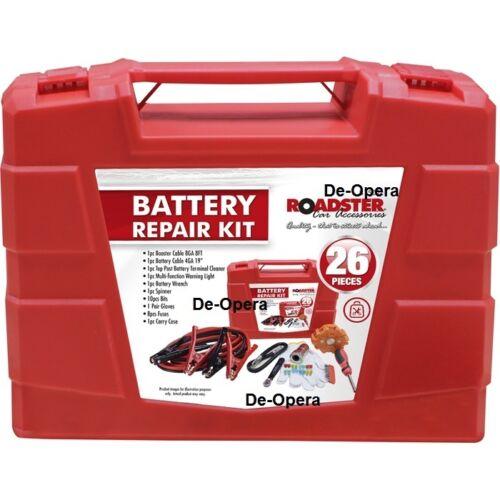 26Pc Battery Repair Kit Jump Start Terminal Fuse Van Motorbike Car