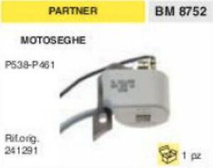 241291 BOBINA ricambio MOTOSEGA PARTNER P538 P461 P 538 461 BRUMAR BM8752