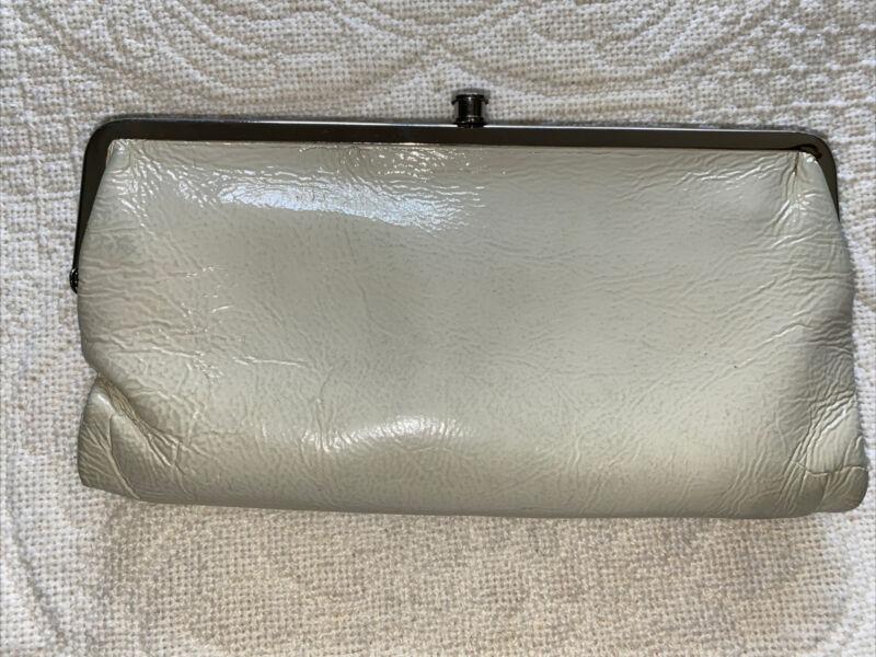 Sporting Hobo Lauren Wallet Patent Leather Cream