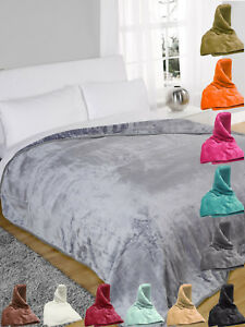 Home & Garden Home Décor Soft Mink Faux Fur Throw Fleece Warm Large Sofa Bed Blanket Single To King Size Modern Techniques