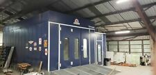 Accudraft Titan Paint Booth 2009 Fully Loaded Ventilation Mixing Room Lif