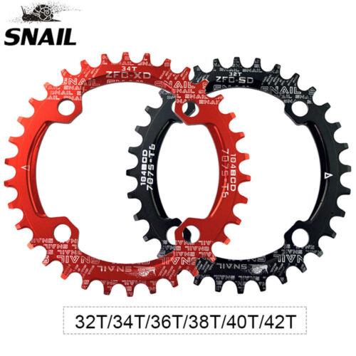 BCD104mm MTB Bike Crankset 170mm Crank Narrow Wide Chainring Bottom Bracket