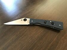 Spyderco Chokwe Framelock Folding Knife (PLN) C132GP CPM-S30V Titanium/G10 Knife
