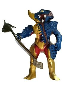 "Power Rangers  Goo Fish Evil Alien Action Figure Bandai 1993 7.5"""