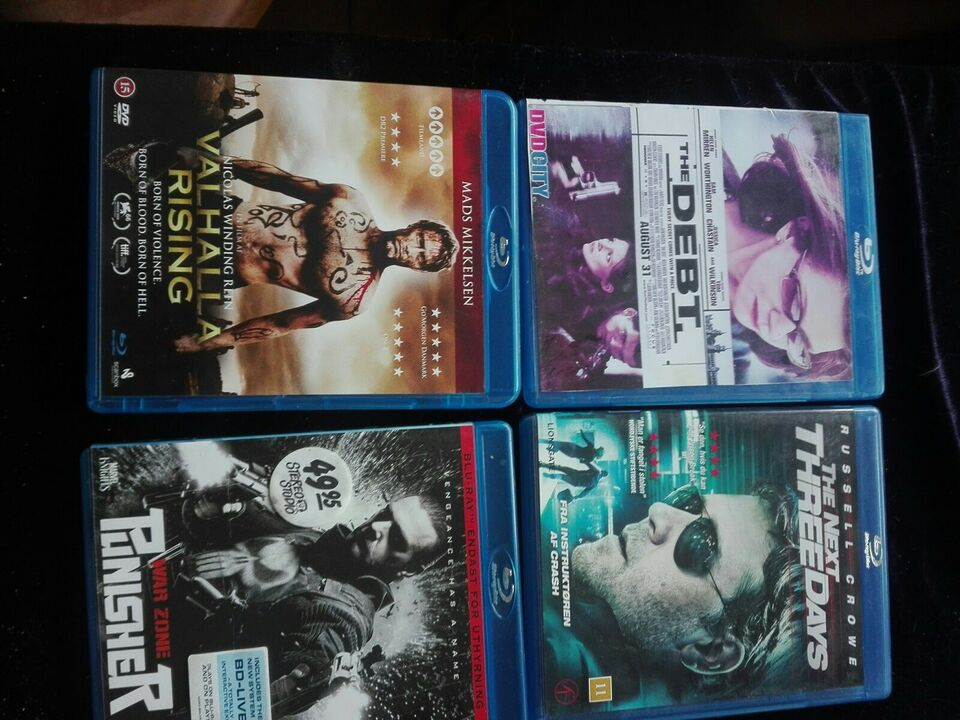 Diverse film, Blu-ray, andet