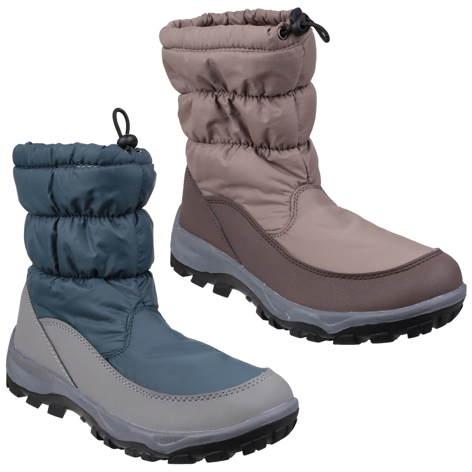 Cotswold Polar Mujer Impermeable Mujer Polar Botas De Nieve uk3-8 c6d373