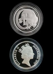 1991-Australia-1c-99-99-Silver-Proof-Masterpiece-Coin-New-Sealed-RARE-Beautful