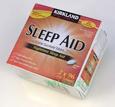 KIRKLAND Signature Nighttime SLEEP AID, Doxylamine Succinate  25mg, 192 Tablets