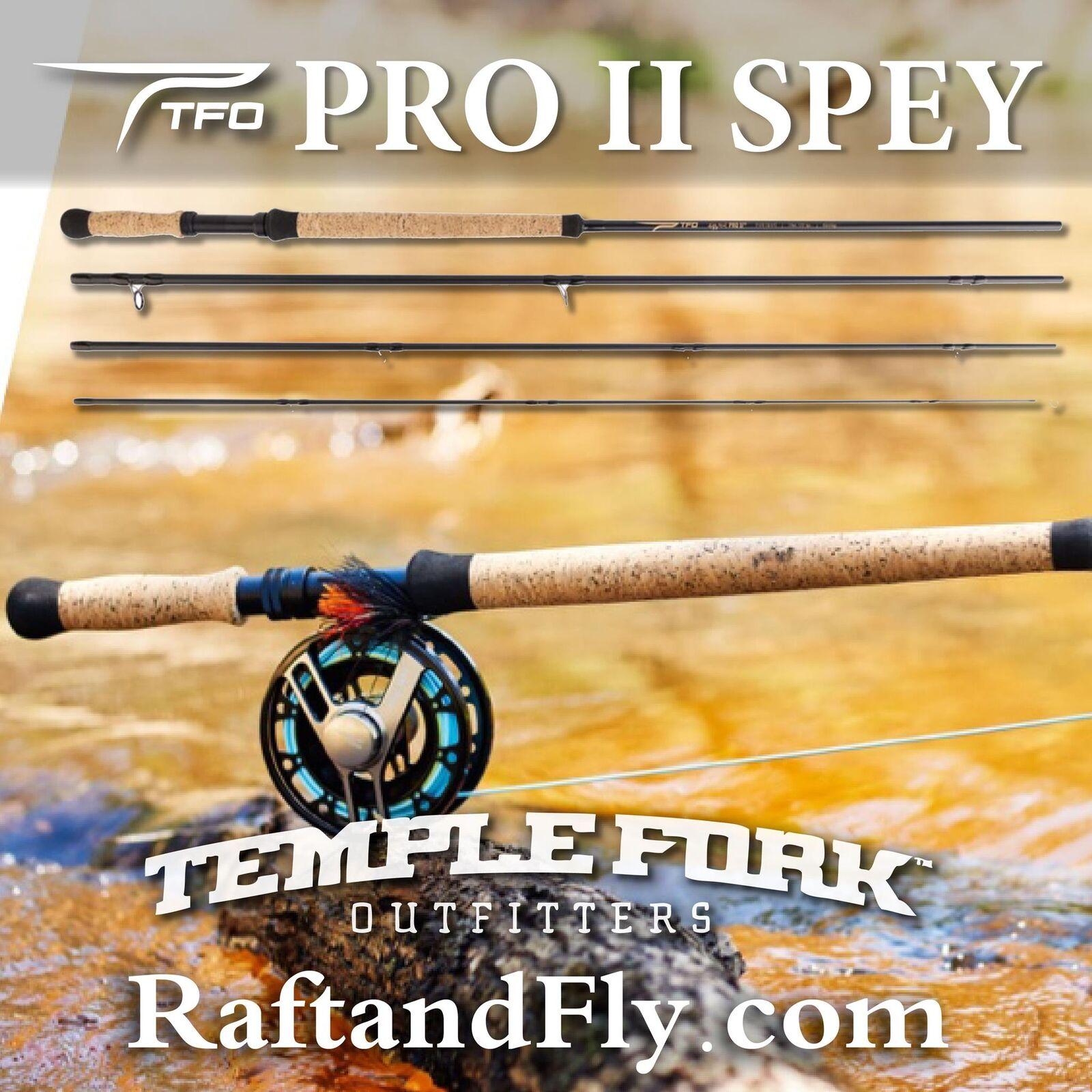 TFO Pro II Spey 7 8wt - Lifetime  Warranty - FREE SHIPPING  more order