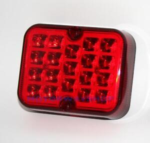 Coche-Furgoneta-Camion-LED-ROJO-ANTINIEBLA-TRASERO-Piloto-auxiliar-luz-RING