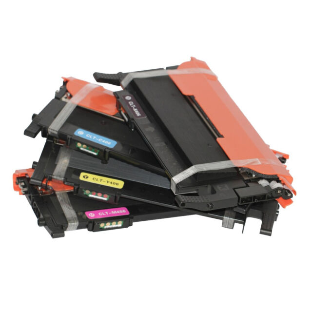 4 for CLT-406S Toner for Samsung CLP 360 365 365W CLX 3300 3305FN 3305FW