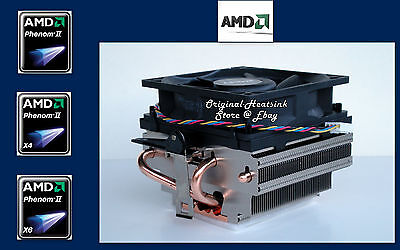 AMD PHENOM I FX CPU HEATSINK COOLING FAN FOR SOCKET AM2 AM3 AM2+ X6 II X4
