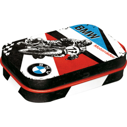 Cracker Filler Gift BMW Motorbike Nostalgic Sugar Free Mint Tin