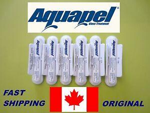 6 PACK AQUAPEL ,Windshield and Glass Applications (Original )