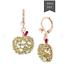 US-Seller-Betsey-Johnson-Crystal-Green-Apple-Drop-Earrings-Authentic thumbnail 2