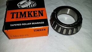 New-in-Box-Tapered-Roller-Wheel-Bearing-Timken-LM67048-OD-2-328-034-ID-1-25-034-USA
