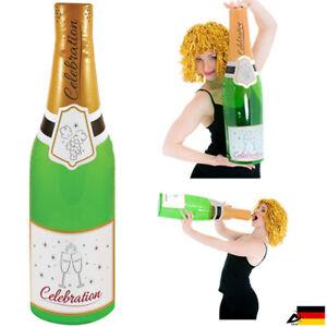 Champagner Flasche Aufblasbar Champagnerflasche Sekt Flasche Party 73cm-180cm