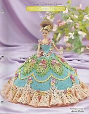 SWEET PEA Annie's Glorious Gowns FLOWER GARDEN COLLECTION Crochet Pattern
