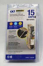 Square D Qo115pdfc 15 Amp Dual Function Cafigfci Plug On Circuit Breaker