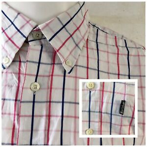 Genuine-Barbour-Candish-Candy-Regular-Fit-camisa-de-cuadros-de-manga-larga-talla-XL