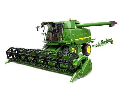 New Bruder Toys John Deere Combine Harvester Bruder 02132- 1 16 Scale Farm Model