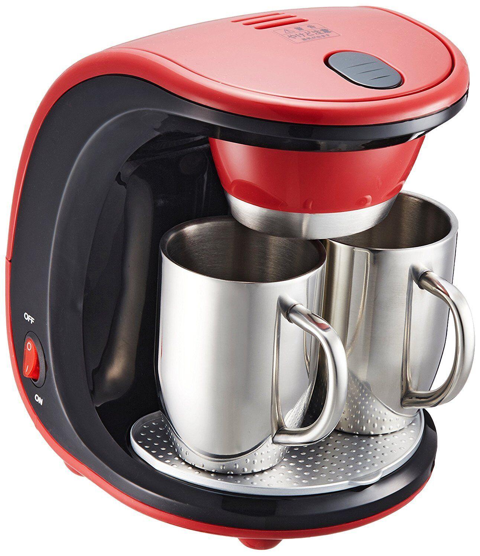 WAHEI FREIZ Merito en acier inoxydable 2 tasses cafetière MM-9511 du Japon