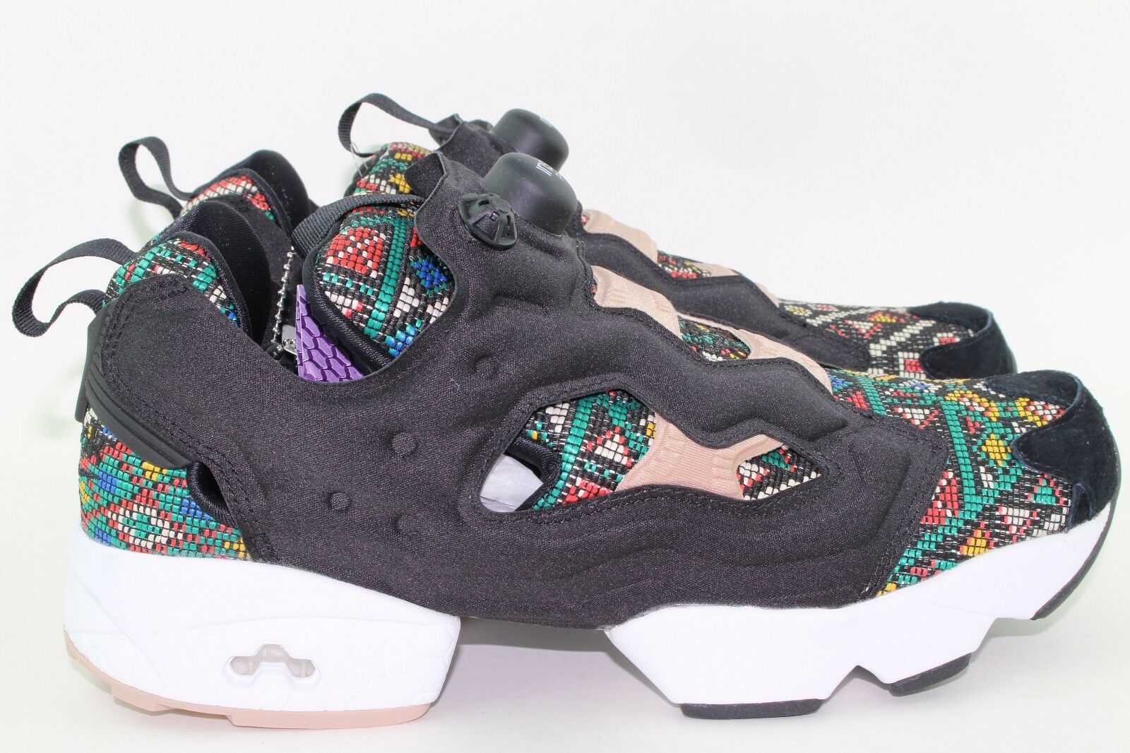 REEBOK INSTAPUMP FURY GT WOMAN SIZE 10.5 NEW DUSTY rose RARE AUTHENTIC