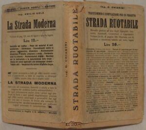 CHIARINI-TRACCIAMENTO-COMPILAZIONE-STRADA-RUOTABILE-1927-PLANCHES-INGEGNERIA