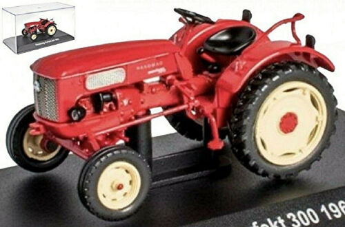 Hanomag Parfait 300 1963 Tracteur Remorqueur Rouge Red 1:43
