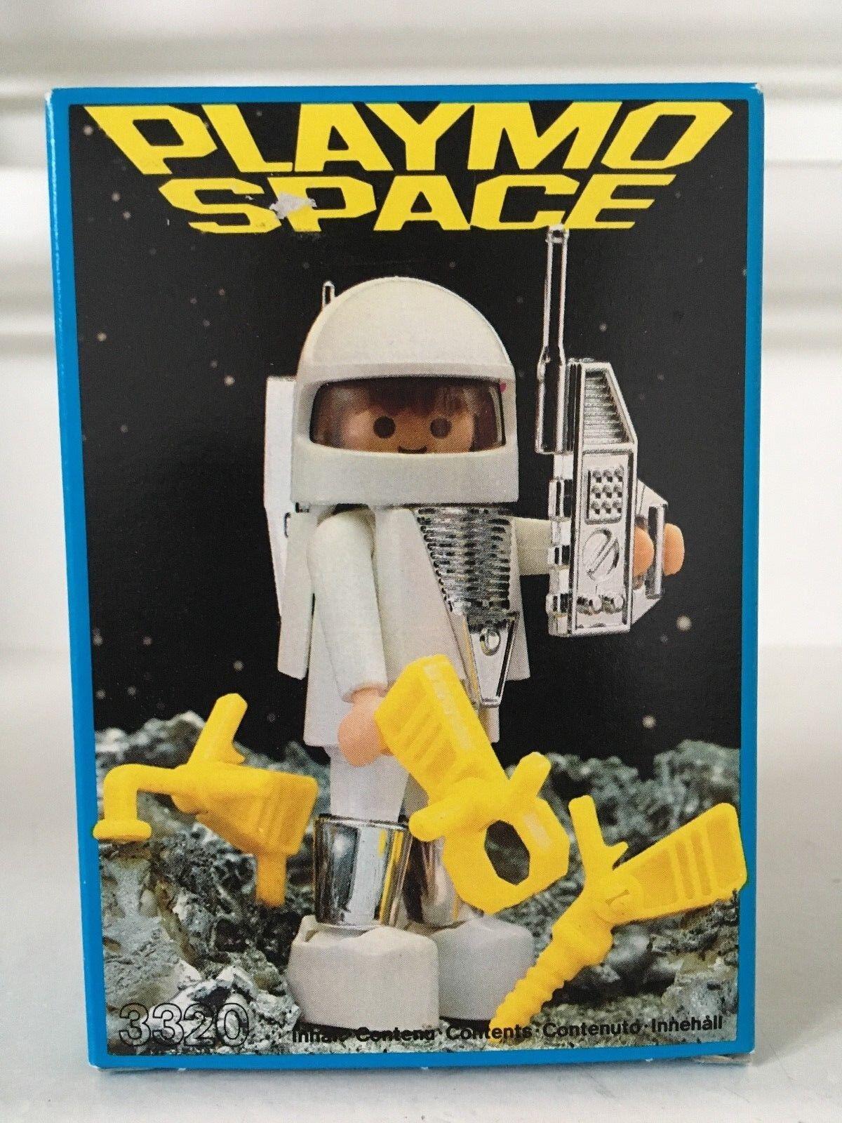 PLAYMOBIL PLAYMO SPACE ASTRONAUT 3320 NIB 1984