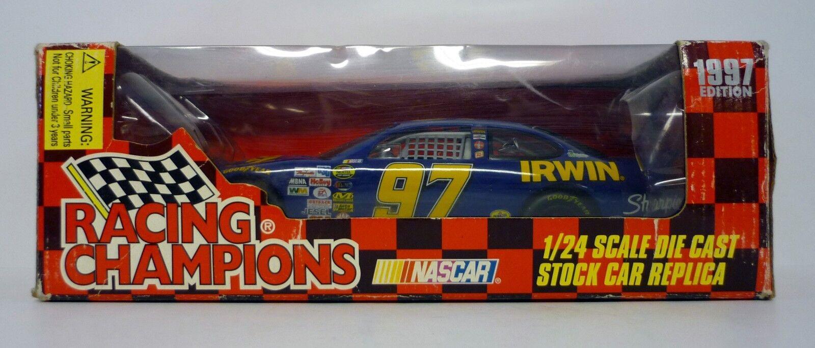 Course Champions Nasvoiture   97 Irwin 1 24 Moulé Voiture Kurt Busch Autographe 1997  jusqu'à 34% de réduction sur tous les produits