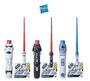 Star Wars Lightsaber Hasbro Star Wars LIghtsabers Vader R2D2 Stormtrooper