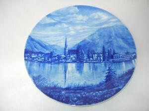 Furstenberg-Wall-Plate-Porcelain-Motif-Rottach-Egern