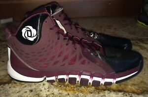 quality design 67170 a515a Image is loading ADIDAS-D-Rose-773-II-2-0-Maroon-