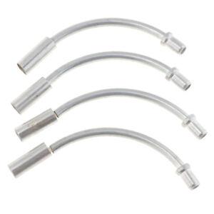 MTB V-Brake Noodles Bike Flexible V brake tubes Cable Noodle Guide Hose steel